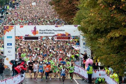Royal Park  Half Marathon 2018
