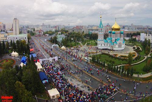 MARATON MOSCÚ 2018.