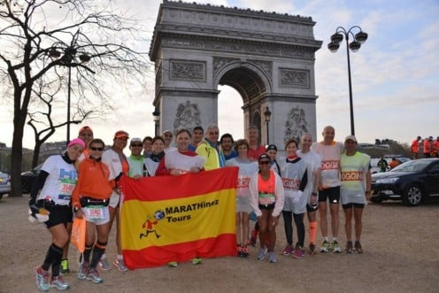 MARATÓN PARIS 2018