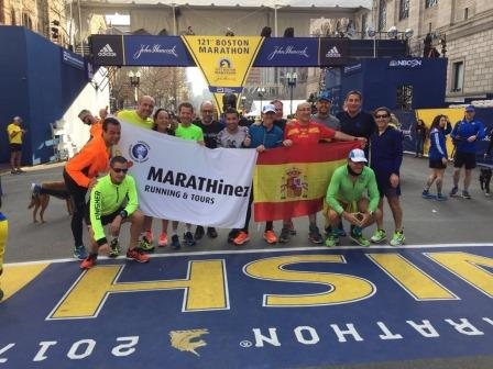 MARATÓN DE BOSTON 2018
