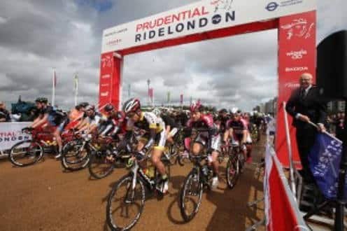 PRUDENTIAL RIDE LONDON 2016