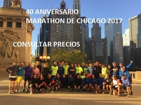 MARATON DE CHICAGO 2017 (40 ANIVERSARIO)